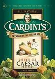 Cardini's Gourmet Cut Croutons, Caesar, 5-Ounce Bags (Pack of 12)