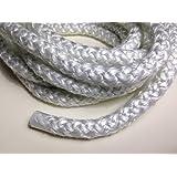 """3/8"""" Wood Stove Door Gasket, Round Fiberglass Rope Seal (10 ft. roll) Regular Density"""