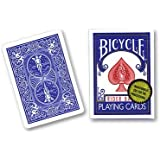 Bicycle Playing Cards, Gold Standard, Poker Size (Blue Back)