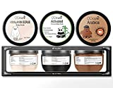 Coffee Body Scrub By Body Luv. Exfoliating Body Scrub Made to Target Psoriasis, Cellulite, Stretch Marks, Varicose Veins, Eczema with the Use of Natural Ingredients Such As Coffee and Almond Oil.