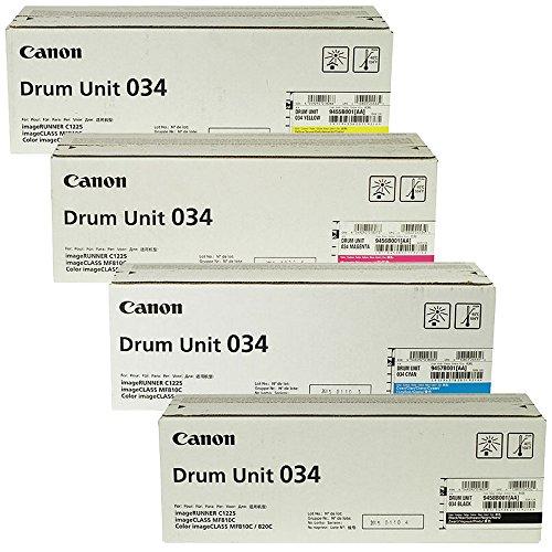 Canon Color imageCLASS MF820Cdn Standard Yield Drum Unit Set