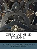 Opera Latine Ed Italiane..., , 1271965976