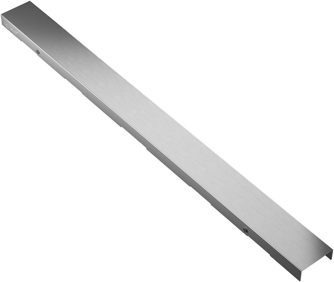 AQUABAD® SDS Professional 60 cm cubierta BORD de acero inoxidable ...