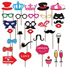 Wedding Photo Booth Props, New Design, Wedding Decorations, Birthday Party Photo Props, Attached To The Stick NO DIY REQUIRED only from USA-SALES Seller