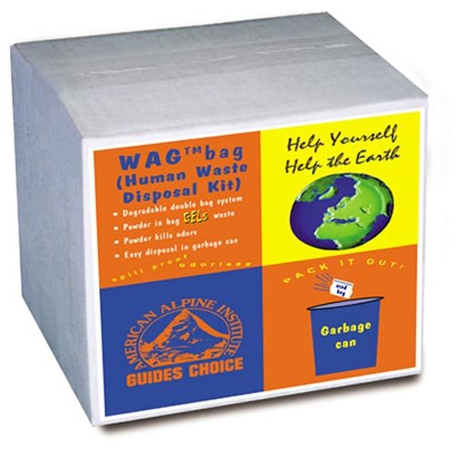 Cleanwaste D007W00 Go Anywhere 100-Pack Waste Kits by Portable kit for alleviating waste, odor free
