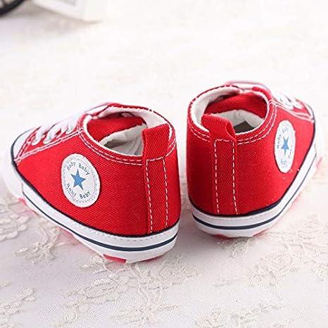 Amazon.com: FidgetKute Zapatos Comodos Zapatitos de Bebe Baby Niña Niño Zapatillas de Recien Nacido Blanco 0-6 meses: Clothing