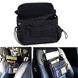 law enforcement car organizer - ZSZBACE Car Seat Organizer- Adjustable Straps- Front Seat Tablet Storage- Car Pocket