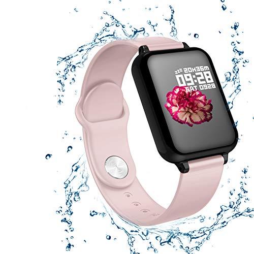 Gelrova Fitnesstracker, activiteitstracker, fitnessarmband, touchscreen, IP67, waterbestendig, met bluetooth…