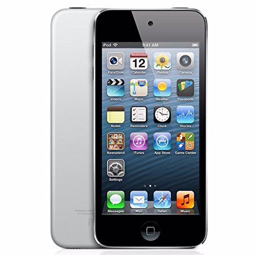 Apple iPod Touch 16GB Black/Silver(5th Generation) (Certified Refurbished)