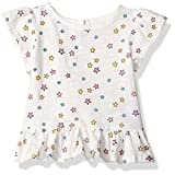 Rosie Pope Baby Girls' Tee's and Sweater Tops, Stars, 3-6 Months