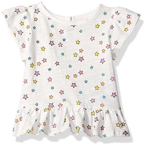 Rosie Pope Girls Baby Tee's & Sweater Tops, Stars, 0-3 Months