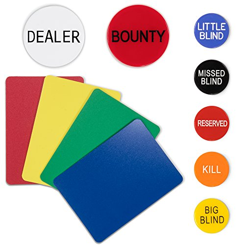 12 Mixed Decks Casino Playing Cards Used In Real Nevada Casinos with Free Bounty Button Kit by - Harrahs Nevada Casino