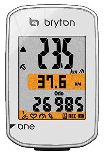 Bryton Rider One GPS Ciclismo, Blanco, Talla Única