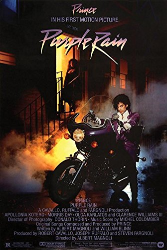 Prince - Purple Rain 1984 36x24 Music Movie Art Print Poster