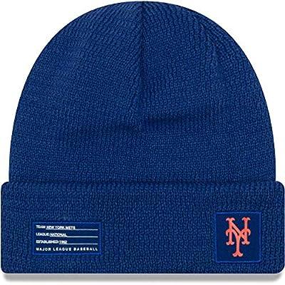 New Era York Mets Beanie MLB 2018-19 On Field Sport Knit Cap Blue Adult One Size
