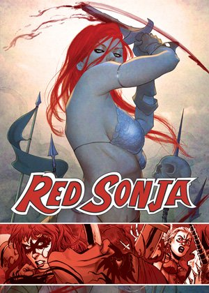 (RED SONJA TRADING CARDS PREVIEW SET)