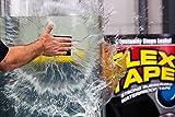 Flex Tape Rubberized Waterproof Tape, 8 Inch x 5