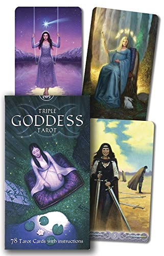 Triple Goddess Tarot Cards – 8 May 2017