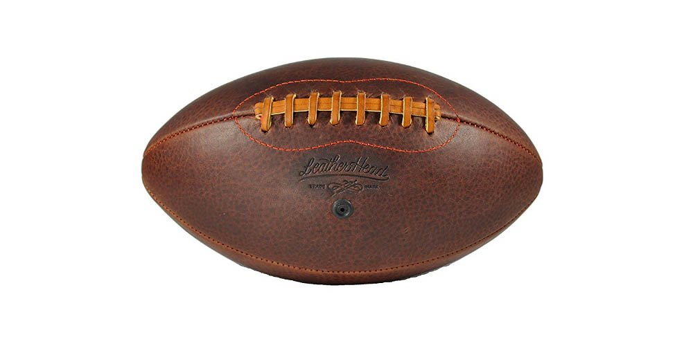 Handsome Dan Leather Head Football by Leather Head