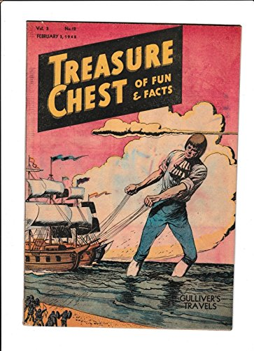 - TREASURE CHEST OF FUN amp; FACTS VOL.3 #12 [1946 GD] GIANT COVER