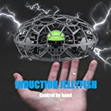 SueSupply Mini UFO Drone Toys, Hand-Controlled Quadcopter Aircraft,Suspension Aircraft with 360° for Kids, Toddlers Boys Girls