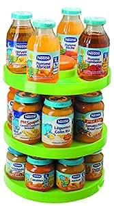 Babysun Nursery - Peana para botes de comida infantil y biberones pequeños