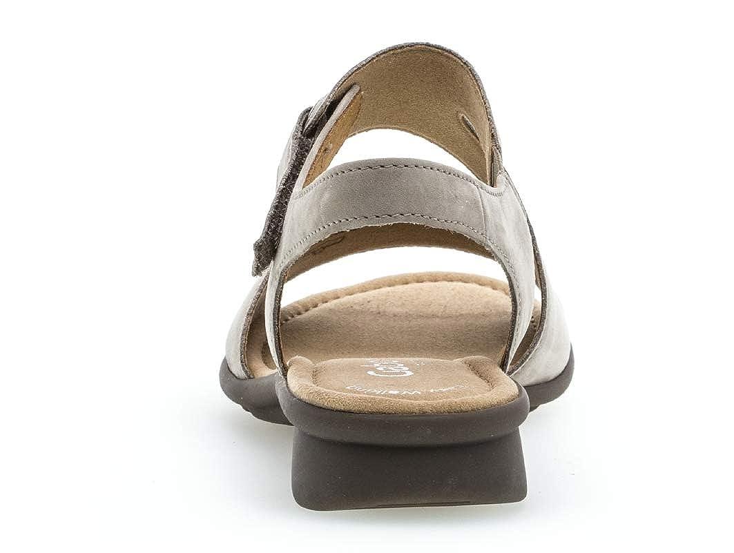 Gabor 26.063 Damen Sandalen Riemchensandale Riemchensandale Riemchensandale Frauen Sandalette Sommerschuh flach Comfort-Mehrweite a8f733