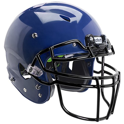 Schutt Sports Vengeance A3 Youth Football Helmet (Facemask NOT Included), Royal Blue, Small -