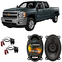 Fits Chevy Silverado Pickup 1999-2007 Rear Pillar Factory Replacement Harmony HA-R46 Speakers