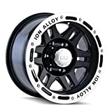 Ion Alloy 133 Black Beadlock Wheel (17x9''/5x139.7mm)