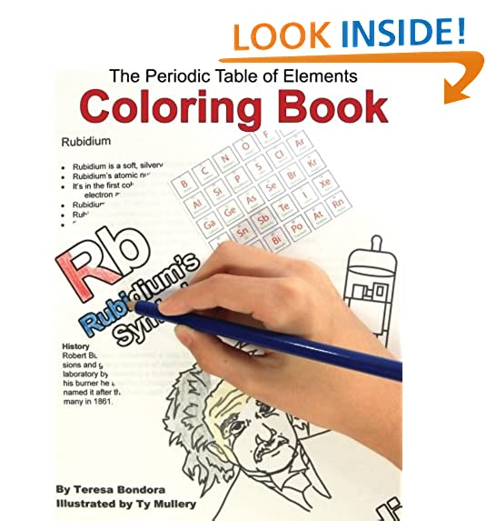 Elements of the periodic table amazon the periodic table of elements coloring book urtaz Choice Image