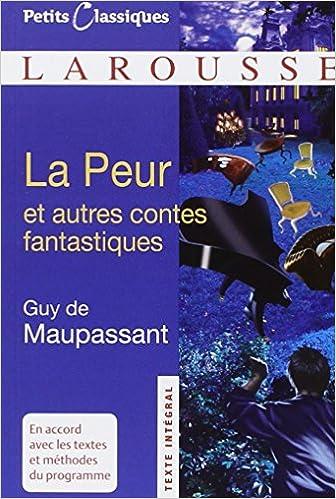 la peur Guy de Maupassant
