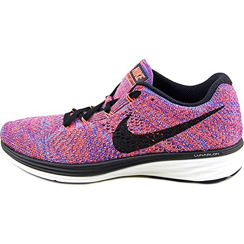 Lunar3 Flyknit Zapatillas Nike Orange Hyper Naranja Wmns Black Mujer Racer Blue running de wE5qT1q