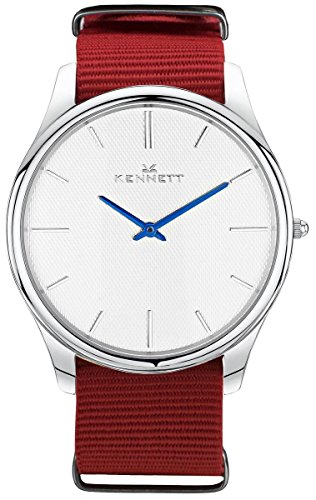 WhiteRed-Kensington-Watch-by-Kennett