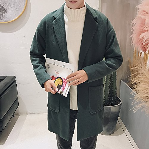 Männer - Mode und lässig Pelzmantel weiten Mantel Mantel Mantel,D,XL