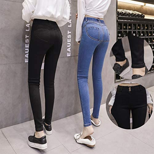 Donna Pantaloni Lunghi Moda Push Up Jeans Dimagranti Fashion Stretch Skinny Boyfriend Pantaloni in Denim Primavera Casuale Leggings Jeans