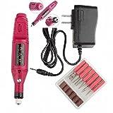 nail drill cord - Nail File Drill Kit Electric Manicure Pedicure Acrylic Portable Salon Machine