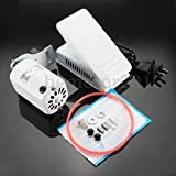 (KaleidoScope)1.0 Amps Aluminum Home Sewing Machine Motor & Pedal Controller HA1 15 66 99K US