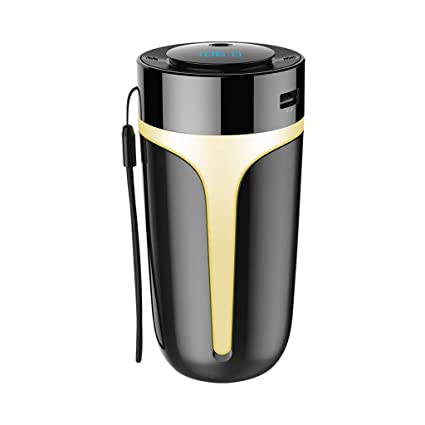 Aroma Diffuser Car Air Humidifier Dual USB Charger Purifier Aromatherapy Mist