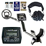 Whites Coinmaster with Waterproof 9'' Spider Search Coil and Treasure Headphones
