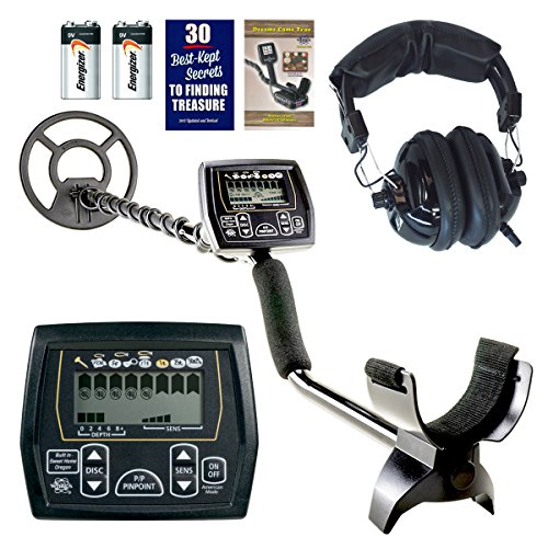 Whites Coinmaster with Waterproof 9' Spider Search Coil and Treasure Headphones