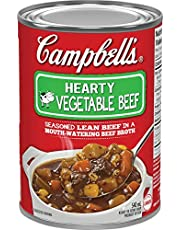 Campbell's Hearty Vegetable Beef Soup, 540 mL