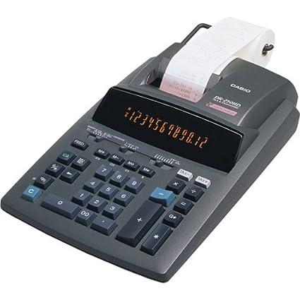 amazon com casio r dr 250hd printing calculator electronics rh amazon com