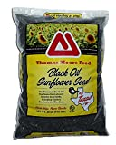Thomas Moore Feed TMF Premium Quality Black Oil Sunflower Bird Seed, 20 lb
