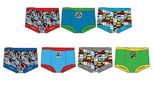 Pants Pack 3 Training (Handcraft Thomas Boys Potty Training Pants Underwear Toddler 7-Pack Size 2T 3T 4T)