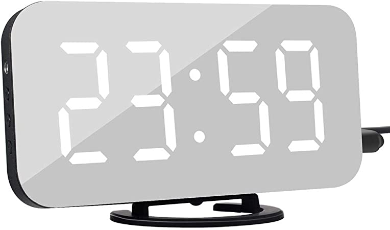 yangGradel Electrónico Repetición Alarma LED Reloj Despertador ...