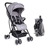 Baby Stroller, Portable Boarding Baby Umbrella Flat Reclining Baby Stroller can sit Reclining Connect Travel System Stroller