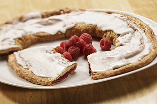 Racine Danish Kringles - Six Individually Boxed Kringles (Raspberry)