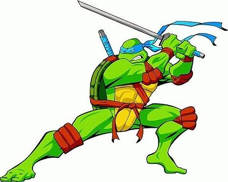 Amazon.com: Teenage Mutant Ninja Turtles Cartoon Car Bumper ...