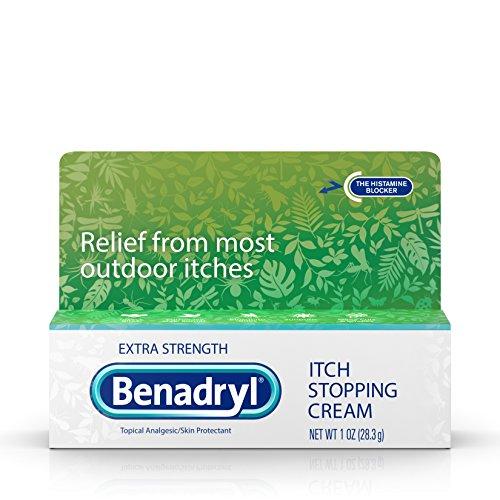 Stopping Cream Itch (Benadryl Extra Strength Anti Itch Cream 1 Oz Tube)